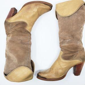Vintage Zodiac USA leather boots